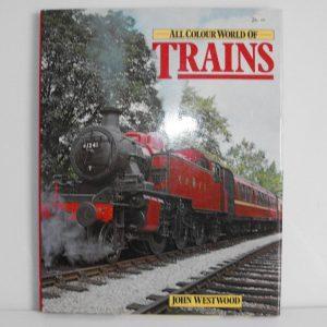 """ISBN 0 7064 0749 0 (BOOKS) AllColour World of Trains104pp 1978 12x9.5""""0 7064 0749 0-0"""