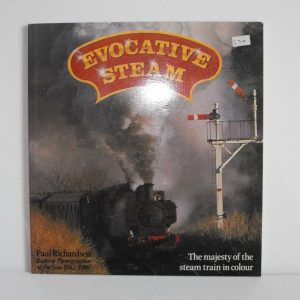"ISBN 0 85045 646 0 (BOOKS) Evocative Steam 128pp all col photos softback book; Paul Richardson 1985 9x8.3"" 2pgs torn-0"