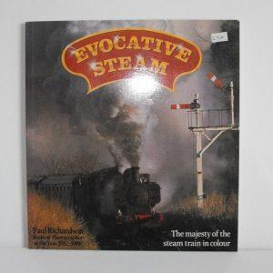"ISBN 0 85045 646 0 (BOOKS) Evocative Steam 128pp all col photos softback book; Paul Richardson 1985 9x8.3"" 2pgs torn-0"