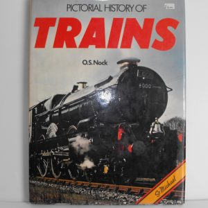 """ISBN 0 904230 15 5 (BOOKS) Pictorial History of Trains 128pp 1978 12.5x9.5"""" 0 9042 30 155-0"""