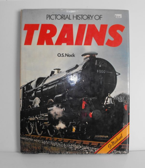 "ISBN 0 904230 15 5 (BOOKS) Pictorial History of Trains 128pp 1978 12.5x9.5"" 0 9042 30 155-0"