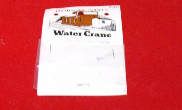A3BW12 Water Crane - Wall Mounted from Tetbury Engine Shed. Prototype Models Size: N -0