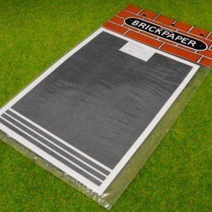 2GT Prototype Models brickpaper, grey slate tiles. Size: N -0