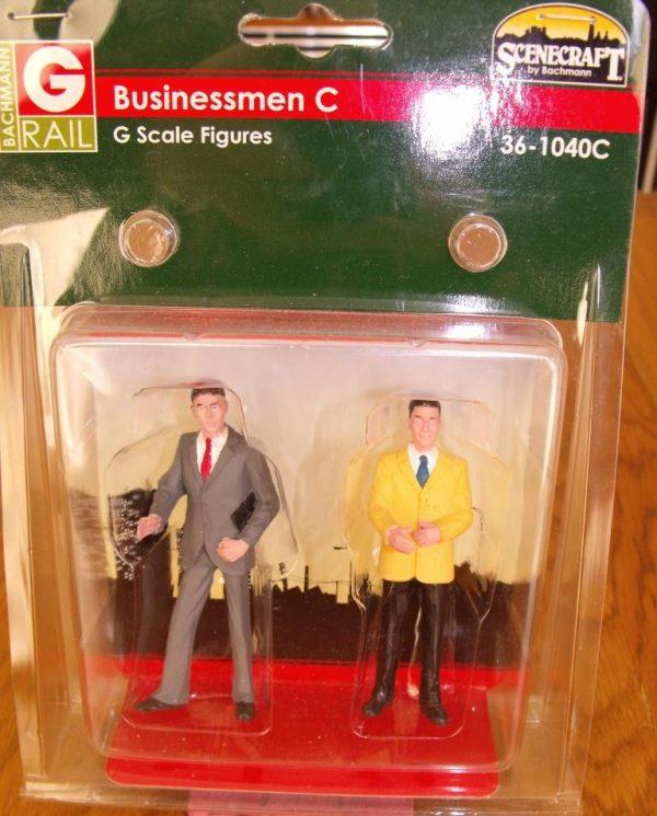 36-1040C Bachmann Businessmen Figures, pk C. Size: G -1687