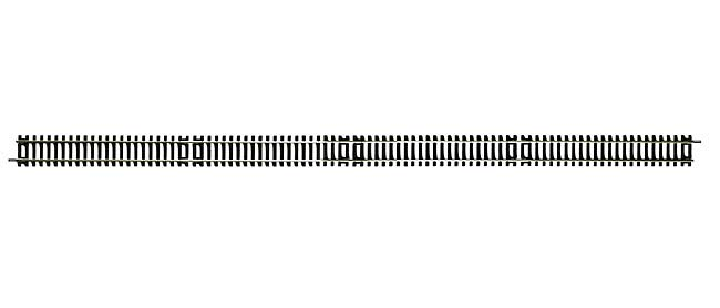 R603 x 24 Hornby track, Long Straight 670mm. qty 24. Size: OO -0