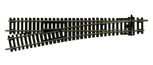 R8077 Hornby Left Hand Express Point. Length 245mm radius 852mmarc 11.25 degrees -0