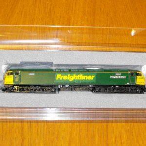 371-651 Diesel loco, Class 57003 'Freightliner Evolution' . Graham Farish Size: N -0