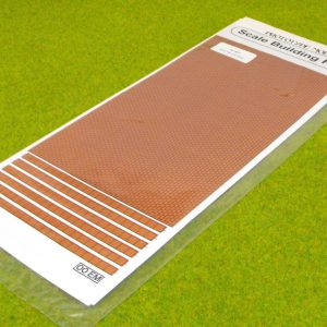 46RT Red Tile Brickpaper. Size: OO-0