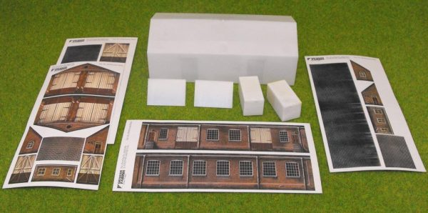 9510 Goods Shed.Grafar Scenecraft Building Kit Easy Assembly - old stock Size: N -0