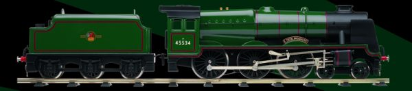 BL99041 Bassett-Lowke Rebuilt Patriot BR Green No 45534 'E Tootal Broadhurst' Size: O Gauge -376