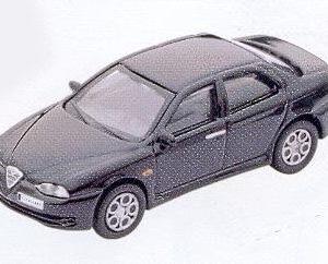 GM308 Alfa Romeo 156 GTA black. Diecast Vehicle, Ready Assembled & Painted Size: OO -0