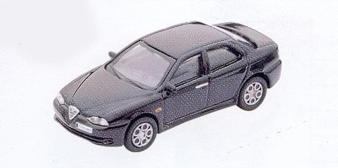 GM308 Alfa Romeo 156 GTA black. Diecast Vehicle, Ready Assembled & Painted Size: OO -0