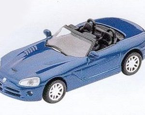 GM311 Dodge 2003 Viper RT/10. Diecast Vehicle, Ready Assembled & Painted Size: OO -0