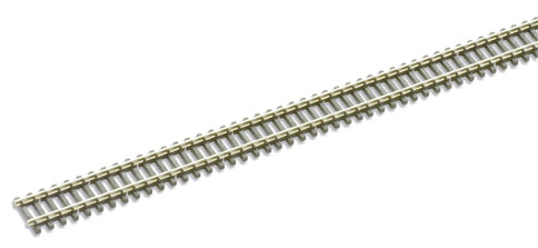 5 x SL-300 Peco Streamline Track Flexible 'Wooden Sleeper' Track. 914mm long. Qty 5 pieces of track. Size: N -0