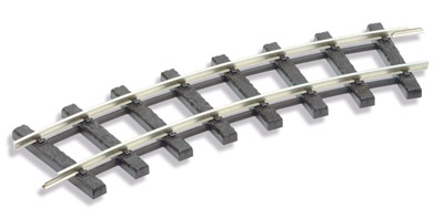ST-905 Peco G45 Standard curve track, setrack 600mm rad, 12 per circle (priced each). code250 Size: G -0