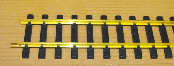 A11099 Aristocraft Straight Track 60inch (5ft) length, brass narrow gauge style. Size: G Gauge-1320