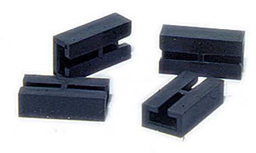 A11901 Aristocraft Rail joiners, plastic insulators pk 4. Size: G -736