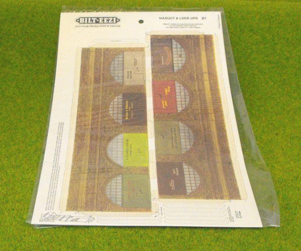 BZ2B7 Viaduct & lock ups. Bilteezi Card Kit Size: N -0