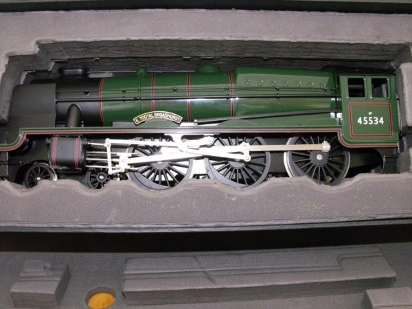 BL99041 Bassett-Lowke Rebuilt Patriot BR Green No 45534 'E Tootal Broadhurst' Size: O Gauge -1596