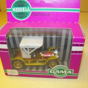 A986 Gama, Opel Doctorwagen 1909. Die Cast Collectors Vehicles 1:43. Size: O -0