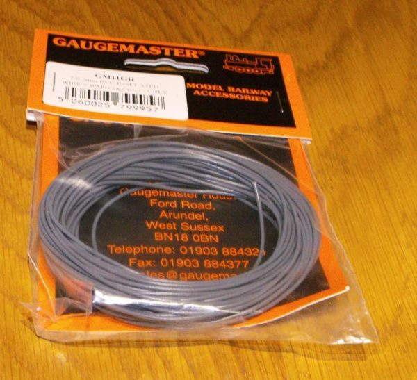 GM11GR pack of 10m WIRE, grey. -0