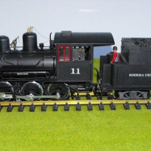 LGB 23191 Mogul 2-6-0 Black No11, MTS with sound unit-0