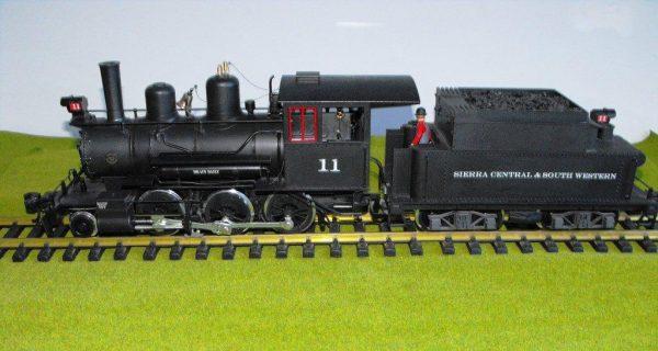 LGB 23191 Mogul 2-6-0 Black No11, MTS with sound unit-0