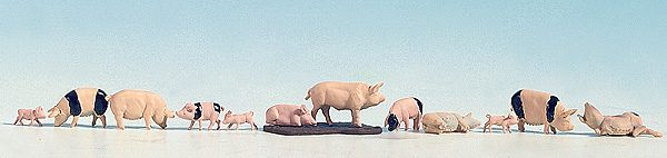 N15712 Pigs. Noch 'H0' Figures & Animals Size: HO/OO -1759