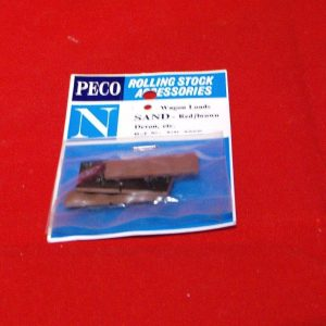 NR-200R Peco Wagon Loads, Sand red & brown, pkd 4 loads Size: N -0
