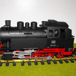 PK37200 Piko BR80 0-6-0T loco only, split from 37110 set. Size: G -0