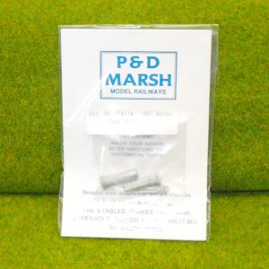 PW114 Post Boxes (3 different types). P & D Marsh White Metal Kit, Kit level 1. Size: OO -0