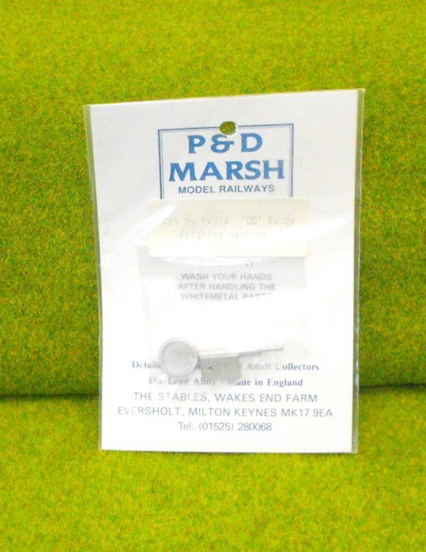 PW214 Scales (Weighing Machine). P & D Marsh White Metal Kit, Kit Level 2. Size: OO -0