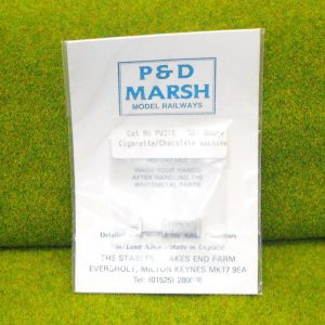 PW215 Cigarette/Chocolate Machine. P & D Marsh White Metal Kit, Kit level 1. Size: OO -0