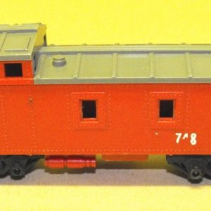 R115 Hornby or Triang Caboose red. Unboxed in poor/average condition.Size: OO   This is a second-hand item.-0