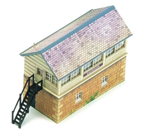 R8005 Hornby Signal Box. Size: OO -683