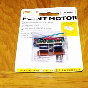 R8014 Hornby track, Point Motor. Size: OO -0