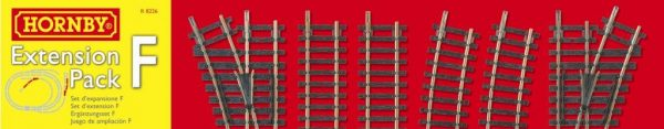 R8226 Hornby track extension Pack F. Size: OO -1399