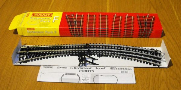 R8226 Hornby track extension Pack F. Size: OO -1400