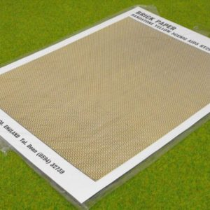 GRT29 Brickpaper, Sandstone. Size: OO -0
