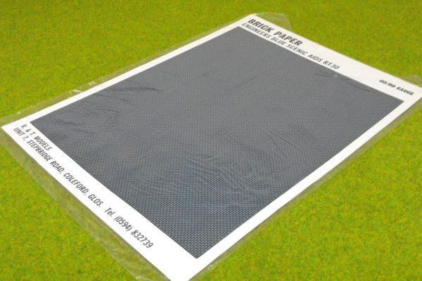 GRT30 Brickpaper, Engineers Blue Bricks. Size: OO -0
