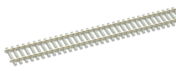 "SL-102 Qty 4 x Peco Flexible Track 36"" (914mm) ""concrete"" sleeper type. Size: OO -0"