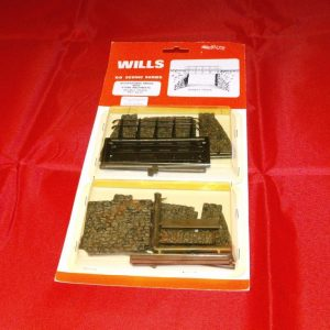 SS32 Wills plastic kit. Occupational Bridge Double-0