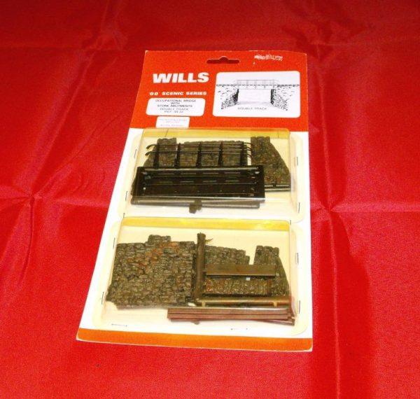 SS32 Wills plastic kit. Occupational Bridge Double-0