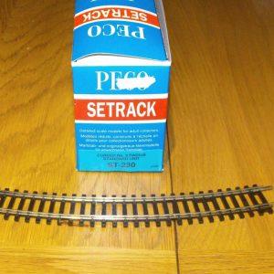 ST-230 x 3pcs Peco Settrack No 3 Radius Standard Curve. Size: OO -0