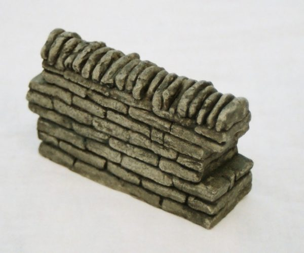 SW1 Shirecraft Walling Straight Section 3.75 inches length. G scale etc-0