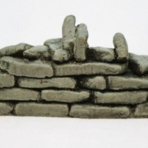 """SW7 Shirecraft dry-stone Walling. """"Broken"""" Flat Section (links SW5,SW6), 3.75 inches length. Size: G etc. Patented Product-0"""