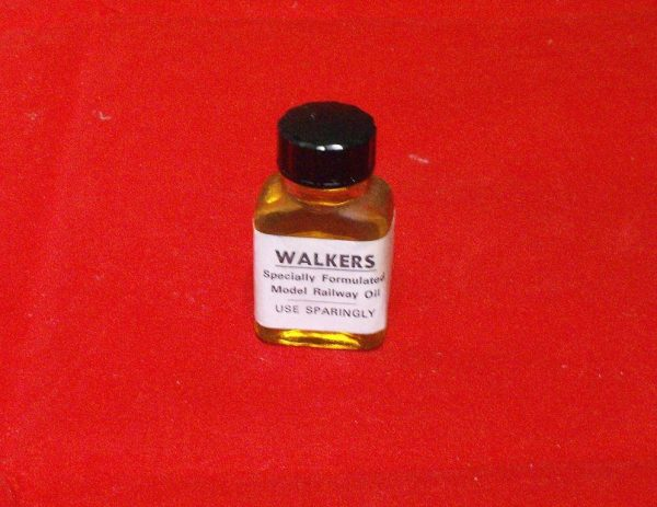 WALKOIL Walkers Railway Oil, Specially Formulated. Small bottle. Size: N, OO etc-0