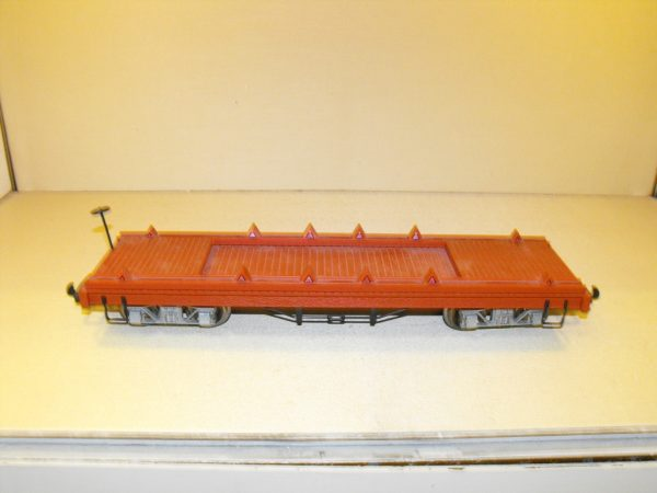 SH24Ha Hartland bogie flat wagon, brown. Size: G | This is a second-hand item.-0