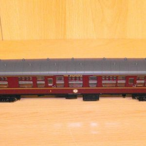 2347-2 Hornby Coach BR maroon brake No.M16004 manxman. Size: OO   This is a second-hand item.-0