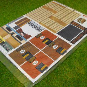 BPN27 Builder plus Multi-storey flats. Card Building Kit Size: N -0